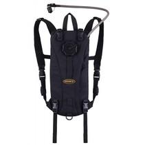 Tactical hydropack 3L - WXP drinkrugzak - zwart