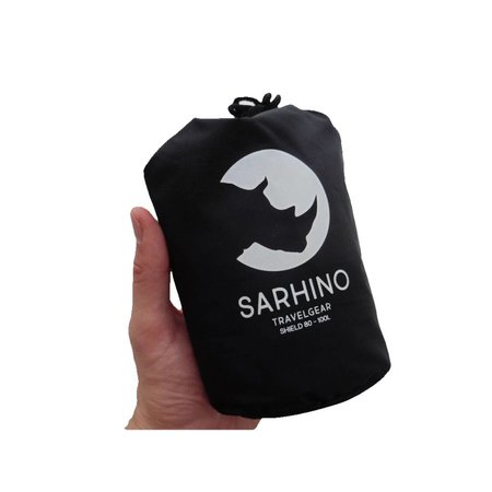 Sarhino Shield L 80-100l flightbag en regenhoes - zwart
