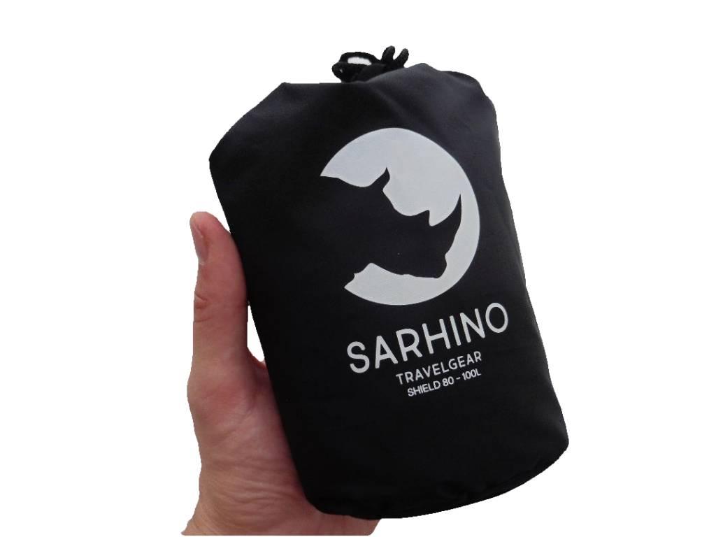 9f61a646cf8 Sarhino Shield M flightbag en regenhoes 80-100- zwart ...