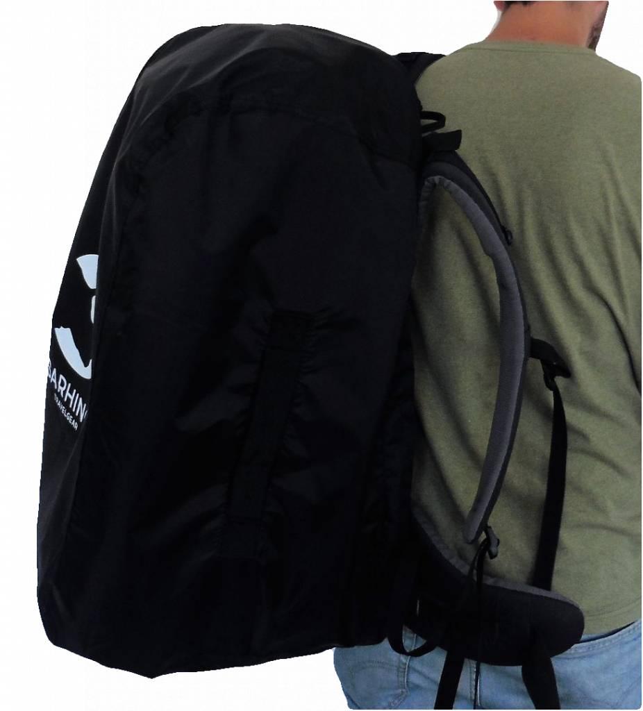 340f08f94e1 Sarhino Shield M flightbag en regenhoes 50-70l - zwart ...
