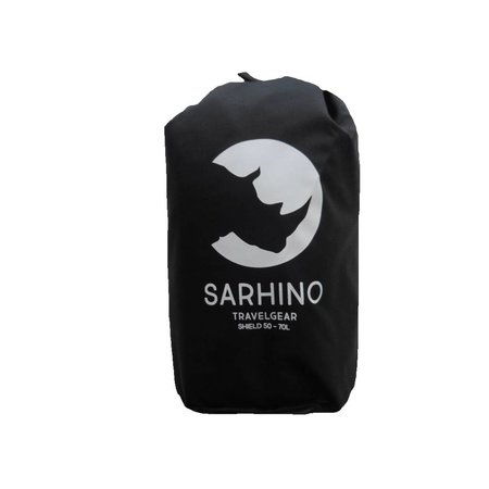 Sarhino Shield M 50-70l flightbag en regenhoes - zwart