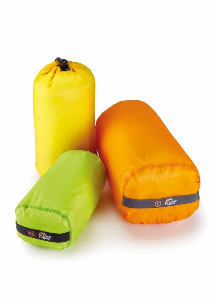 Lowe Alpine Ultralite nylon stuffsac - multipack