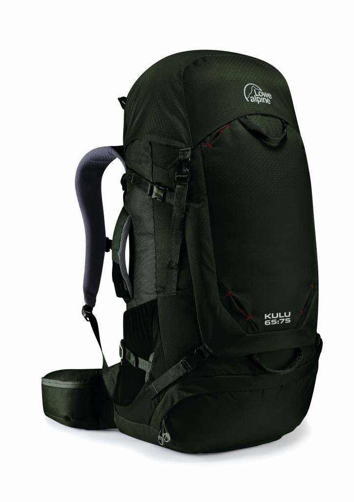 Lowe Alpine Kulu 65:75l backpack - Magnetite