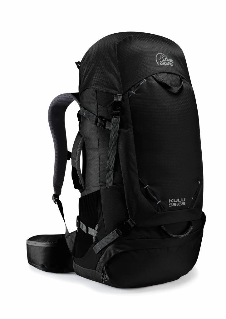 Lowe Alpine Kulu 55:65l backpack - Anthracite