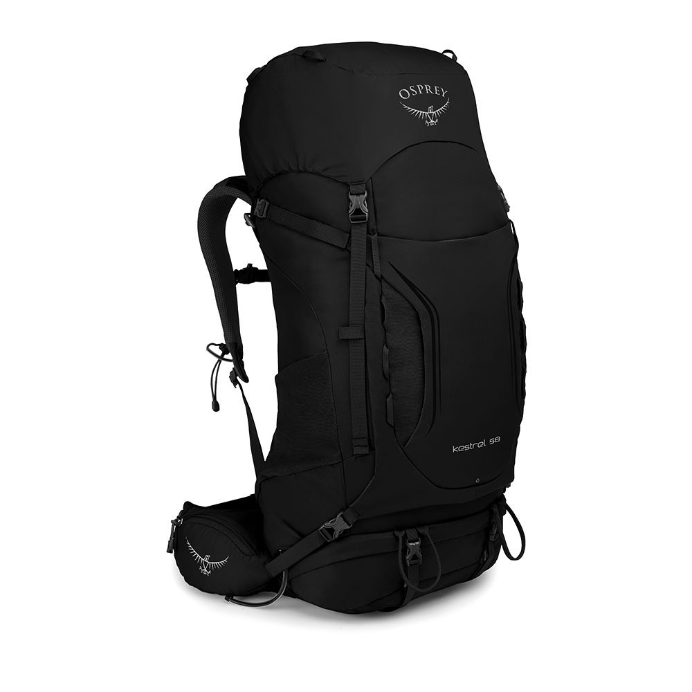 Osprey Kestrel 58l backpack heren - black