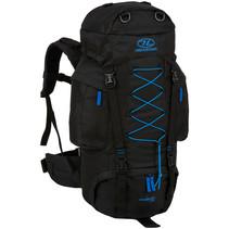 Rambler backpack  66 liter - zwart blauw
