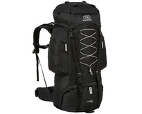 Rambler 88l backpack - zwart zilver