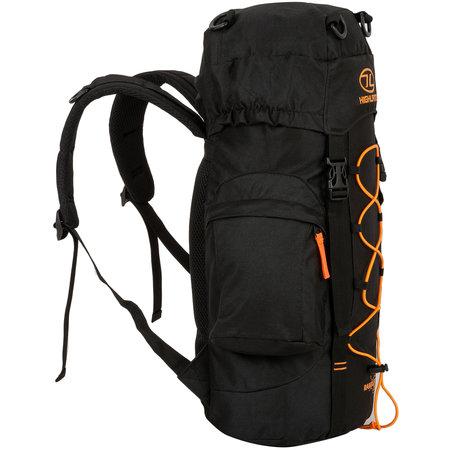 Highlander Rambler 25l wandelrugzak - zwart oranje