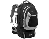 Explorer 45+15l  travelpack - zwart