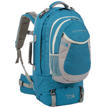Explorer 45+15l travelbag - blauw