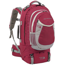 Explorer 45+15l  travelbag met daypack - rood