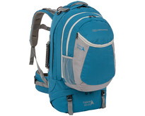 X-plorer 60+20l travelpack backpack- blauw