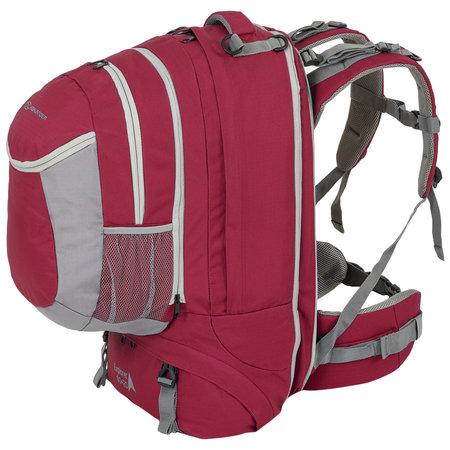 Highlander Explorer 60+20l travelpack backpack - rood