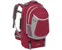 Explorer 60+20l travelpack backpack - rood