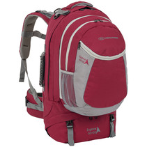 Explorer 60+20l travelpack backpack - rood
