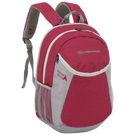 Highlander X-plorer 60+20l travelpack backpack - rood