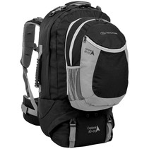 Explorer 80+20l travelpack backpack - zwart