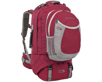 Explorer 80+20l travelpack backpack - rood