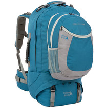 Explorer 80+20l travelpack backpack - blauw