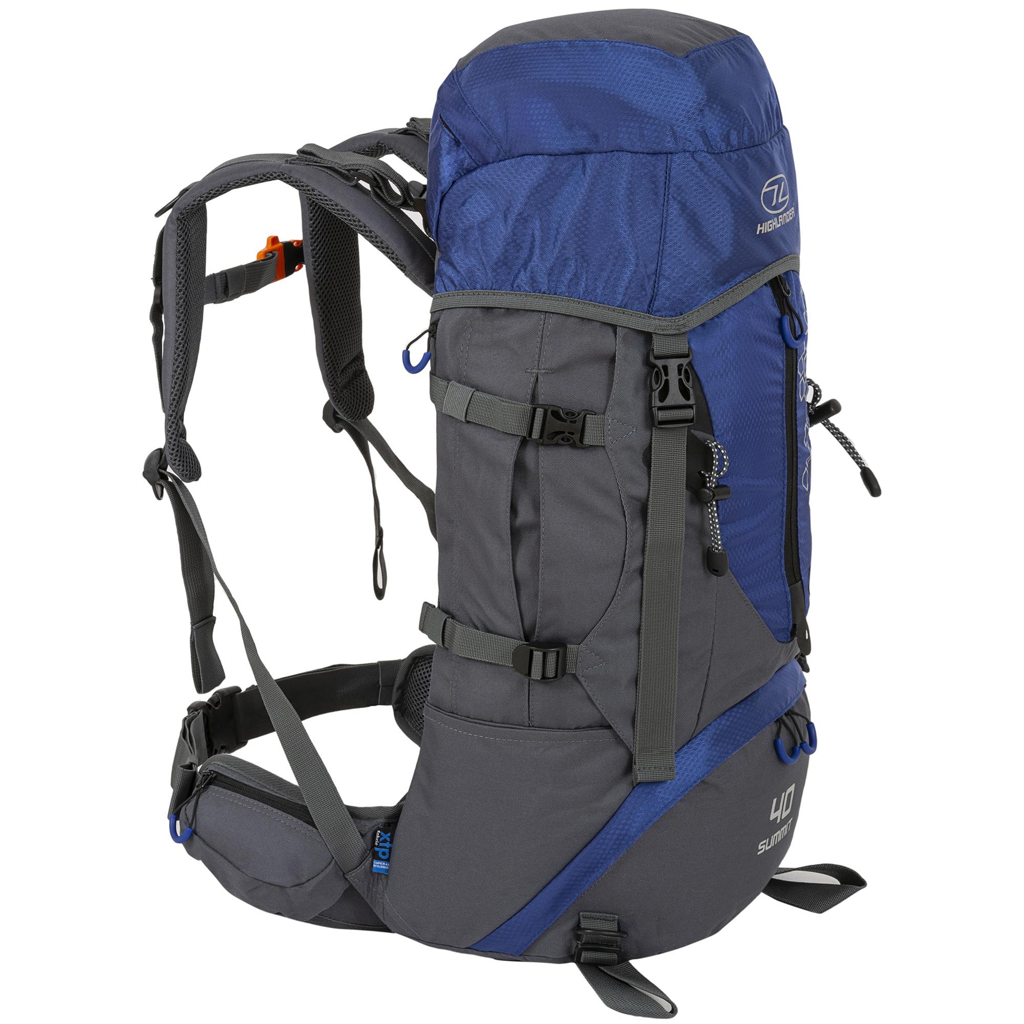 99a49f53607 Highlander - Summit - outdoor rugzak - 40 liter- blauw - Kopen ...