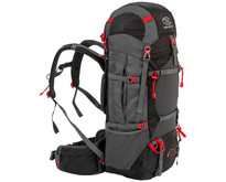 Highlander Ben Nevis 65L trekking backpack - zwart