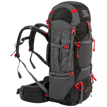 Ben Nevis 65L trekking backpack - zwart