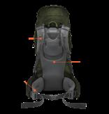 Lowe Alpine Diran 45:55l backpack heren - Anthracite