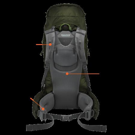 Lowe Alpine Diran ND  60:70l  backpack dames - Anthracite
