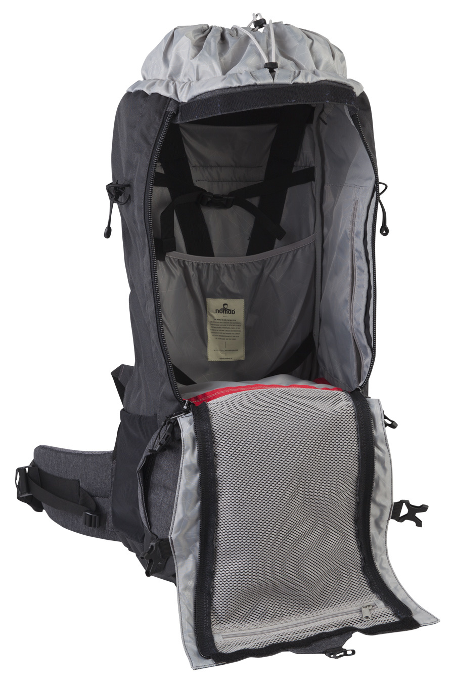 6b4355ccda7 Nomad Karoo 70l backpack heren - Verde | Backpackspullen.nl