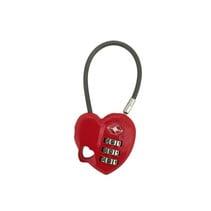 TSA slot -cijferslot in hartjesvorm