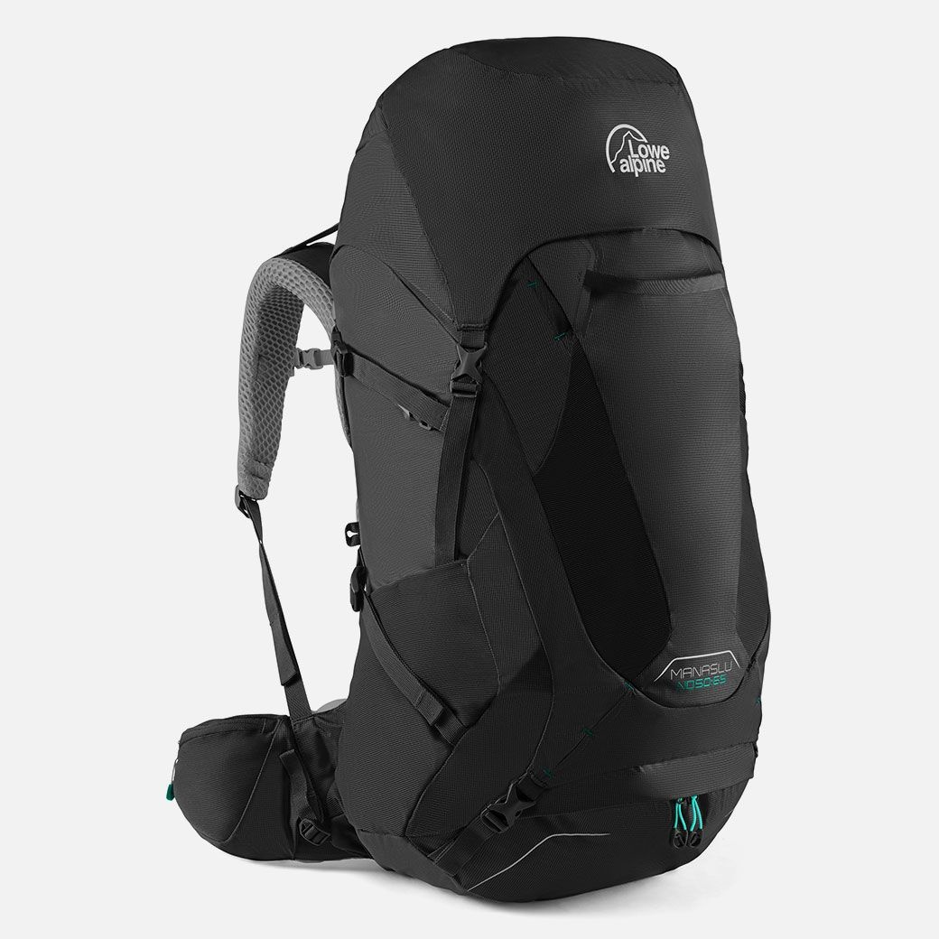 Lowe Alpine Manaslu ND 50:65l backpack dames - Anthracite