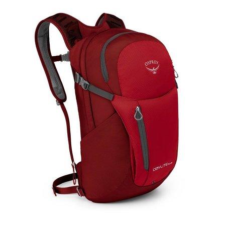 Osprey Daylite Plus 20l laptoprugzak - Real Red