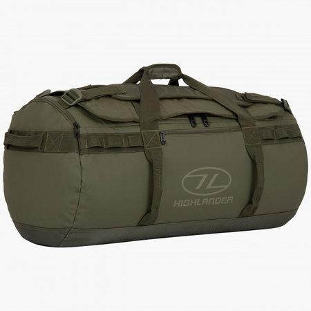 Highlander Storm Kitbag 90l duffle bag - olive