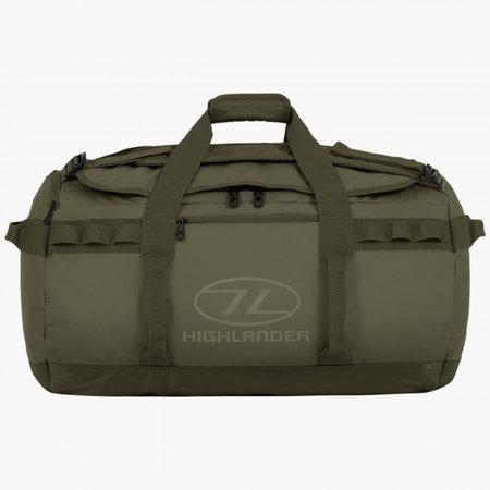 Highlander Storm Kitbag 65l duffle bag - olive