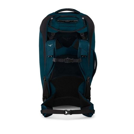 Osprey Farpoint Wheels 65L convertible travelpack heren– Petrol Blue - o/s