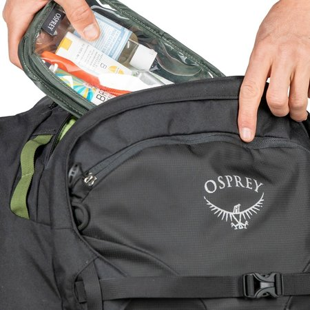 Osprey Farpoint Wheels 65L convertible  travelpack heren – Black - o/s