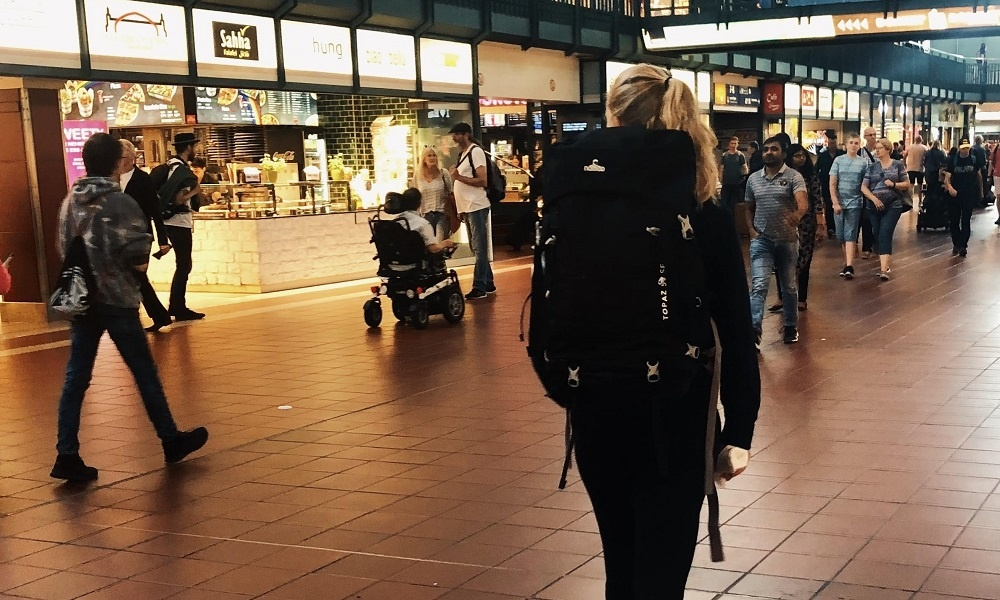 Ambassadeur Esmee gaat gratis interrailen door Scandinavië