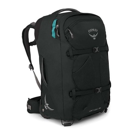 Osprey Fairview Wheels 36l travelpack convertible dames - handbagage - Black O/S