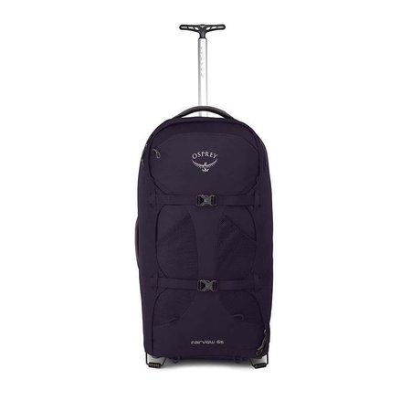 Osprey Fairview Wheels 65l travelpack convertible dames - Amulet Purple O/S