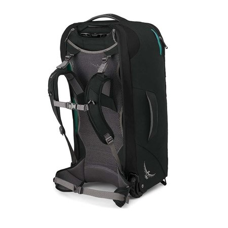 Osprey Fairview Wheels 65l travelpack convertible dames - Black O/S