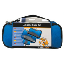 Packing cubes - set van 3 - blauw