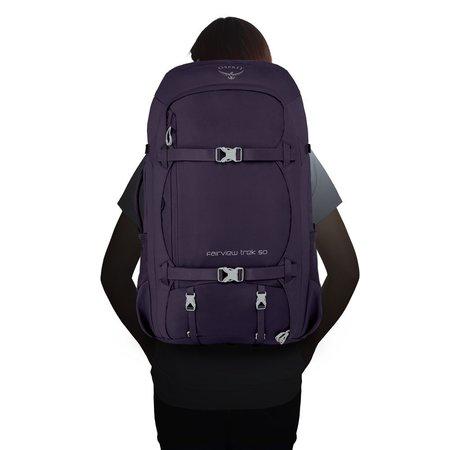 Osprey Fairview Trek 50 dames travelpack Amulet Purple O/S