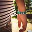 Ik ga op avontuur Travel bracelet  (large) - reisbandje icons - groen