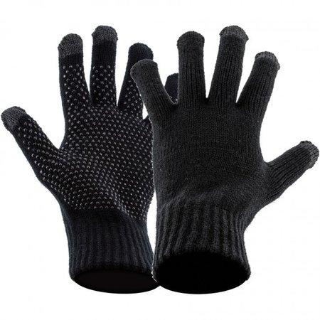 Highlander Touch screen handschoenen met grip - zwart