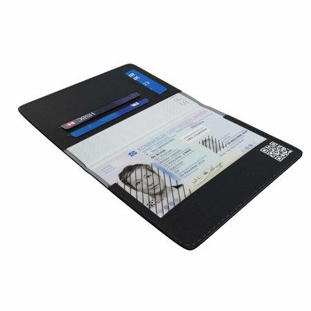 Spy-Fy Privacy paspoorthoes RFID - zwart