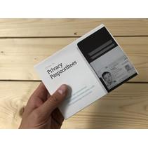 Privacy paspoorthoes RFID - zwart