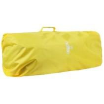 Combicover 85l flightbag en regenhoes -Geel
