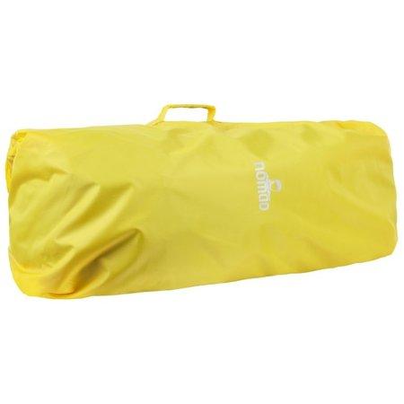Nomad Combicover 85l flightbag en regenhoes -Geel