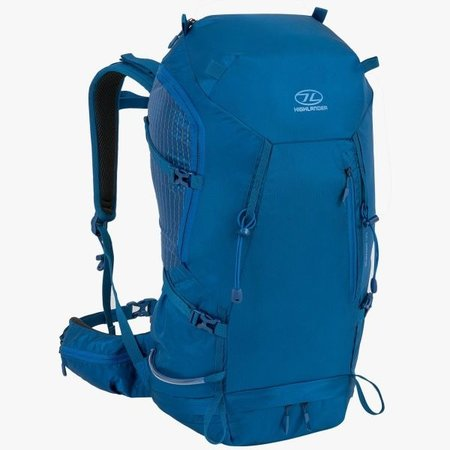 Highlander Summit 40l wandelrugzak met rugventilatie - Marine Blue