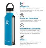 Hydro Flask 18 oz thermosfles 532ml Standard Mouth - flex cap